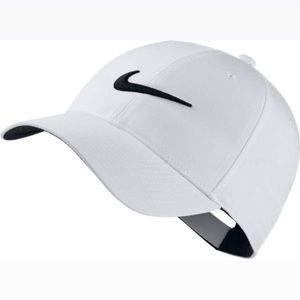 Nike Legacy91 Dri-Fit Tech Logo white cap